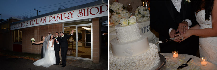 Lucibeloo's Pastry shop wedding cakes